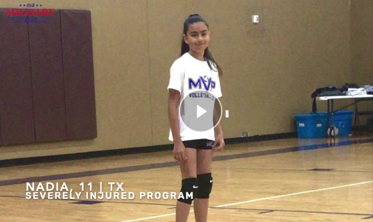 Our Military Kids Volleyball Grant Recipients Video