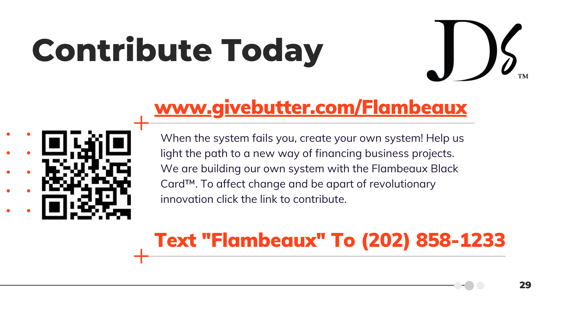 """Contribute Today 