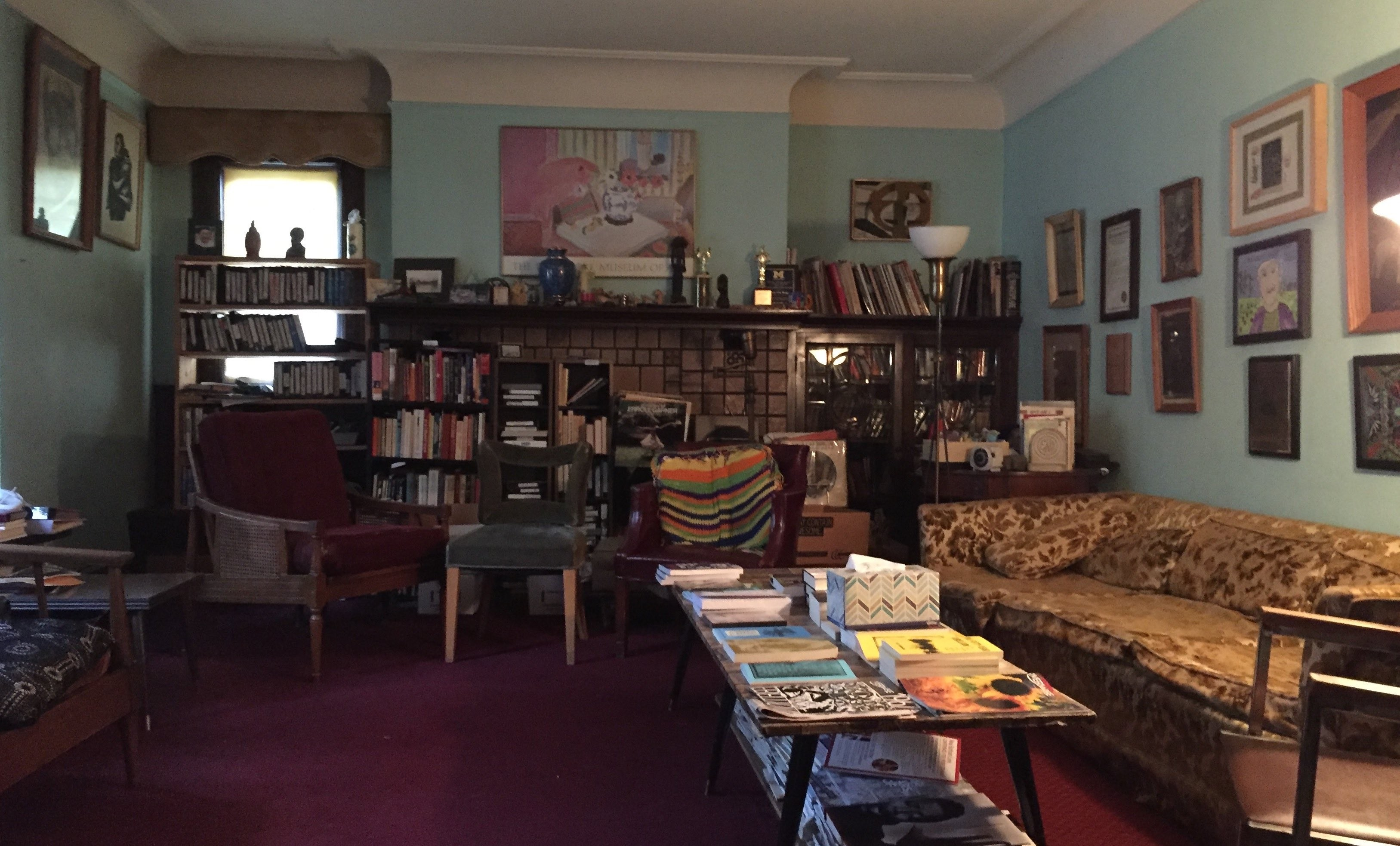 Living Room in Home of James and Grace Lee Boggs