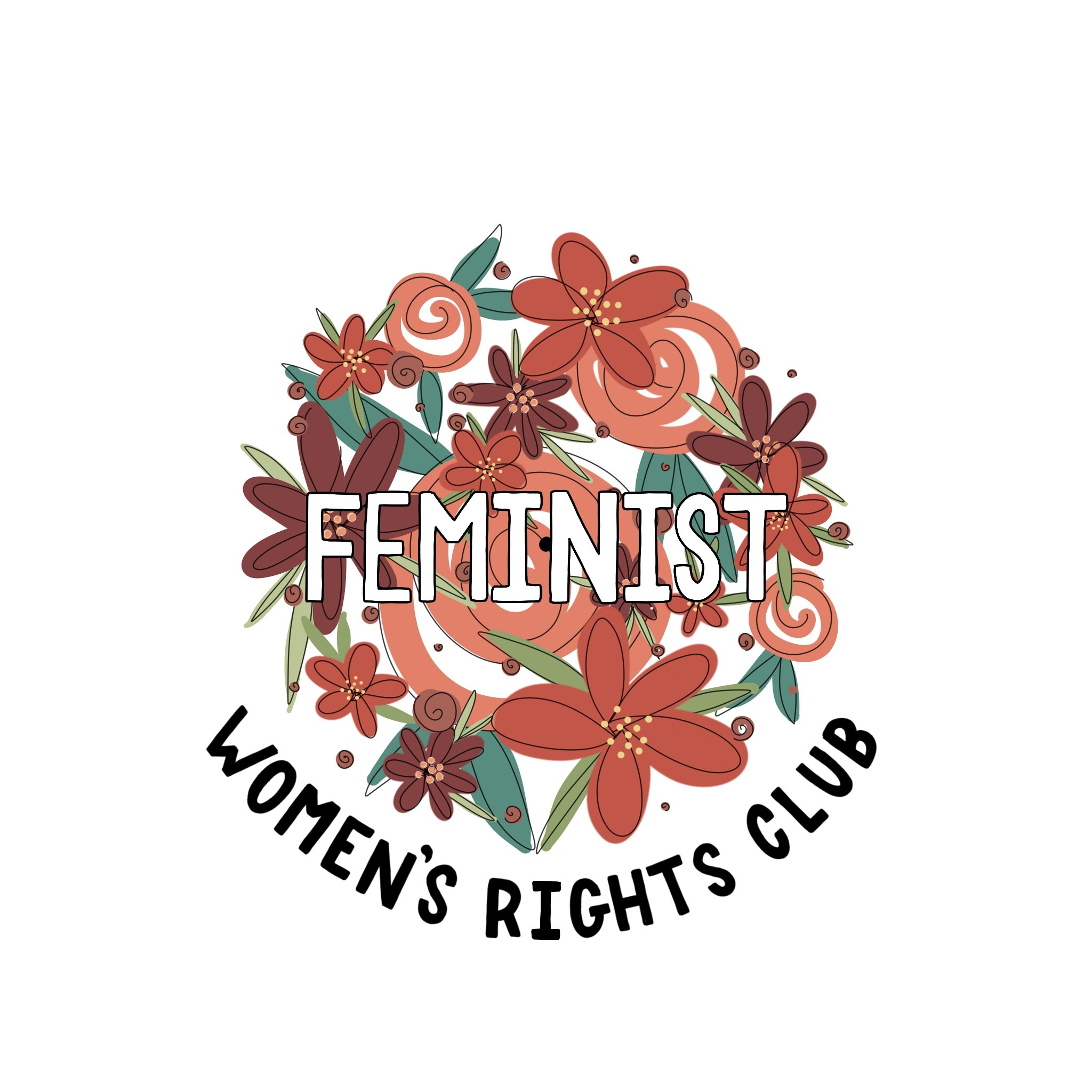 Women's Rights Club Sticker